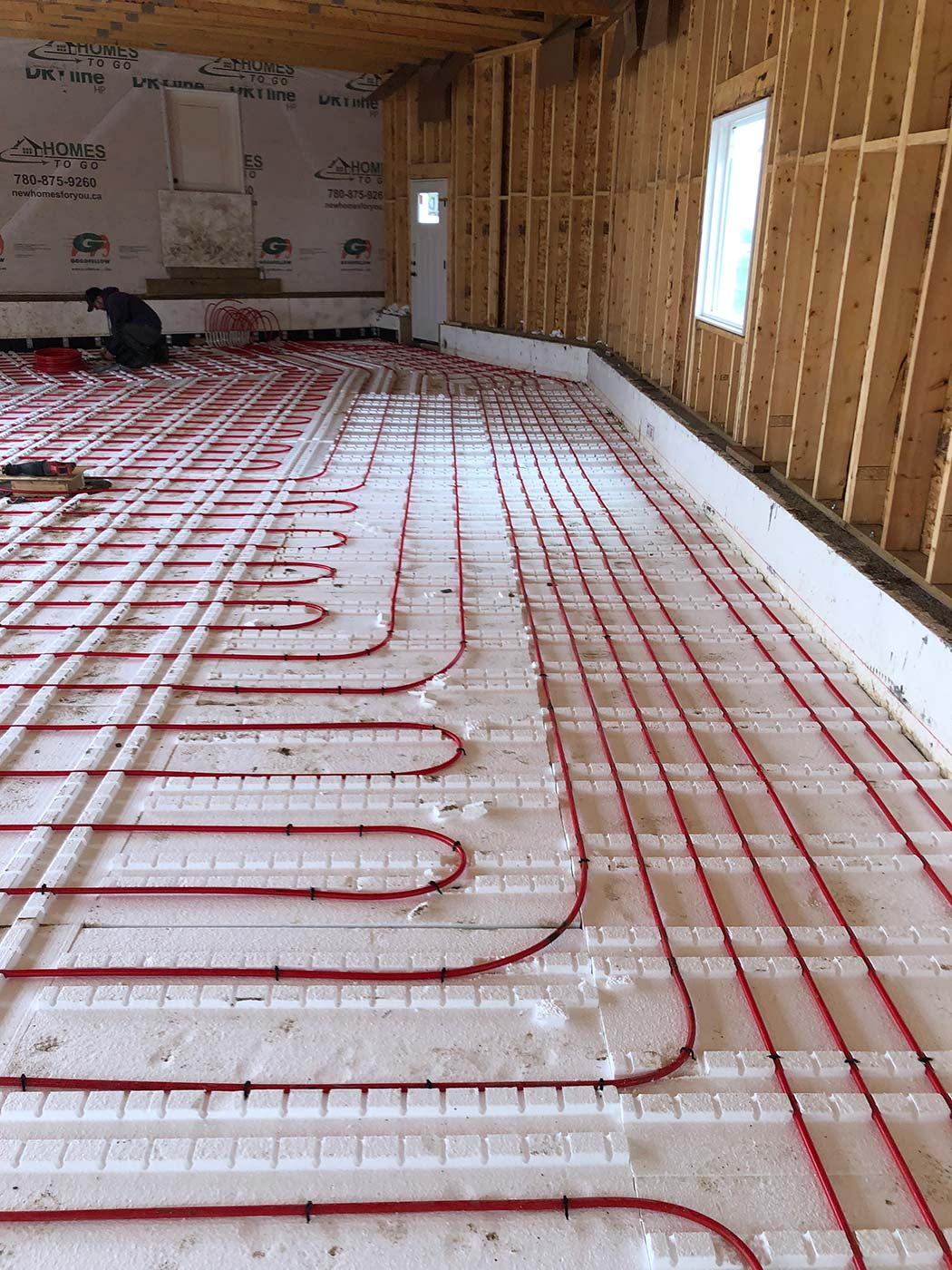floor electrical wires